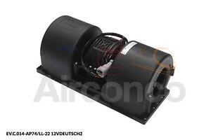 Spal Centrifugal Blower Fan, 014-AP74/LL-22, 12v - Genuine Product!