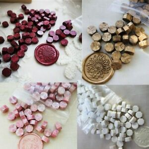 One bag Sealing Wax beads Granular tablet seal Color Multi 100pcs around 32-34g