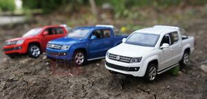 1/32 VW Volkswagen AMAROK Pickup Truck Diecast CAR MODEL kids Toys Gifts