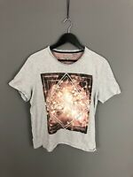 TED BAKER T-Shirt - Size 5 XL - Grey - Great Condition - Men's