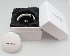Authentic Pandora Silver Gold Vintage Heart charm w porcelain LTD Edit box Set