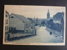ABRESCHWILLER  Moselle CPA 57 une rue édition en bleue