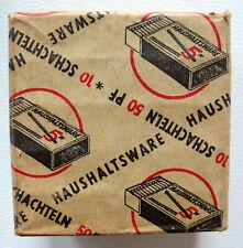 Haushaltsware 50 Pf., 10 Schachteln original verpackt, 50-60er Jahre