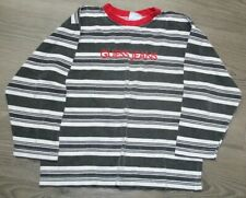 Vintage Baby Guess Striped Embroidered Logo Spellout Shirt Size XL Toddler