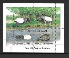 NORTH VIET NAM Sc 2628 NH SOUVENIR SHEET of 1995 - ANIMALS - WWF