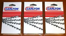 """24""""/25"""" Full Chisel Saw Chain 3-pack Stihl MS360 MS361 MS362 MS390  A1LM-84E(3)"""