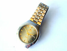 Vintage ORIENT Automatic Men's Wrist Watch w/ Date and Day in Italian