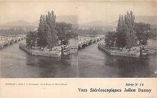 Br34511 Geneve L ile de JJ.Rousseau et Pont du Mont Blanc     Switzerland