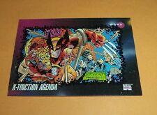 X-tinction Agenda # 184 - 1992 Marvel Universe Series 3 Base Impel Trading Card