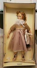 Zapf Designer Collection Doll Gianna 2002 No 694 fait à la MAIN 72 cm Real Cils