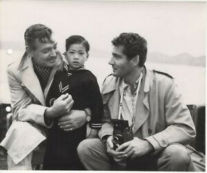 Soldier of Fortune Clark Gable Gene Berry On Location Original 8x10 Photo Snipe