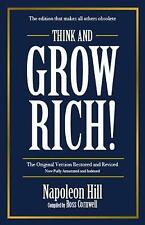 Think and Grow Rich by Napolean Hill (Paperback, 2018)
