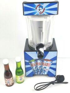 Slush Puppy 9041 Slushie Frozen Ice Drink Machine Maker & 2 x Syrup - Working