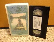 AMAZON DIARY Xingu documentary 1989 Robert Nixon VHS Brazil sociology Kayapo