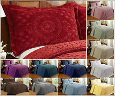 Better Trends Rio 100% Cotton Tufted Chenille Shams in Assorted Sizes Colors