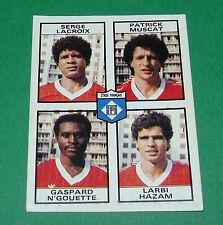 N°493 LACROIX MUSCAT N'GOUETTE STADE FRANÇAIS D2 PANINI FOOTBALL 84 1983-1984
