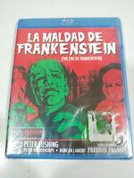 La Evil de Frankenstein Freddie Francis - Blu-Ray Spagnolo Inglese nuevo