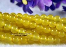 Yellow Agate Bracelet - Healing stone, Reiki, Crystal therapy
