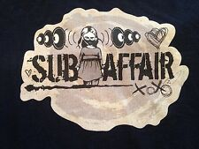 Rare Sub Affair Hannibal Girl Basshead EDM Underground Music Band T Shirt (M)