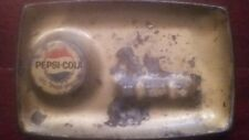 1967 Pepsi Cola Metal and Painted Ashtray Soda Pop Advertising
