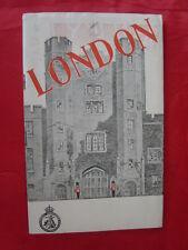 guide touristique Londres/LONDON 1947 en anglais- travel association