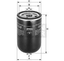 Filtre à carburant Mann Filter pour: Nissan: 720, Bluebird, Caravan, Laurel,