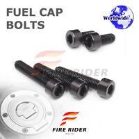 FRW Black Fuel Cap Bolts Set For Yamaha MT-07 FZ-07 14-16 14 15 16