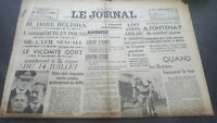 Newspapers The Journal N°17066 Wednesday 12 July 1939 ABE