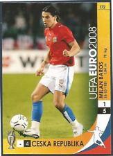 PANINI UEFA EURO 2008 TRADING CARD- #172-CESKA REP-CZECH REP-MILAN BAROS