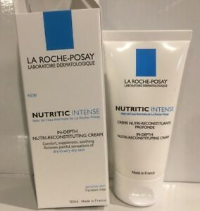 La Roche Posay Nutritic Intense in-Depth Nutri-Reconstituting Cream 50ml NIB