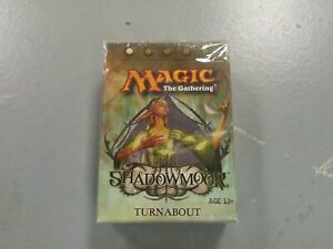 MTG Magic The Gathering Shadowmoor Turnabout Factory Sealed Theme Deck - QTY