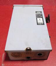 O Siemens 30 Amp Safety Switch FR351 600 VAC  3R