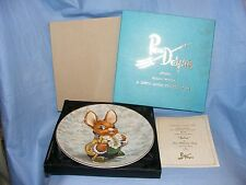 Pendelfin Father Plate Boxed With Certificate
