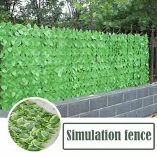 Artificial Leaf Garden Fence Screening Roll UV Fade Protected Privacy Screen