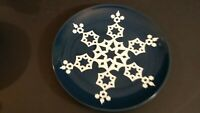 "Noritake Colorwave Blue Snowflake  8 1/4"" accent salad plate"