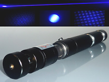 ⚠ Fokussierbarer Laserpointer / Blau / Extrem Stark / Power Akku / Musterkappe