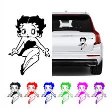 Betty Boop Style Decal Sticker For Your Macbook, Laptop, Wall, Car 8 Designs
