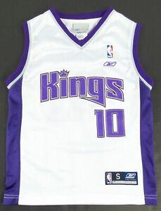 Vintage Reebok Sacramento Kings Mike Bibby Basketball Jersey Size Youth S
