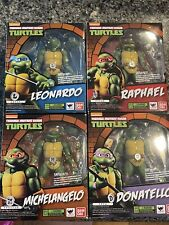 SH Figuarts TMNT Teenage Mutant Ninja Turtles Complete Set MISB AUTHENTIC USA