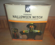 Halloween Decoration Standing Light Up Halloween Witch Over 5 Foot Tall w/ Sound