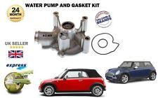 Para BMW Mini R50 R52 R53 Cooper S JCW 1.6 2002-2008 bomba de agua + kit de la Junta Sello