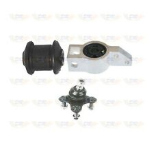 VW PASSAT FRONT LEFT HAND BALL JOINTS AND BUSHES KIT FOR WISHBONE CONTROL ARM