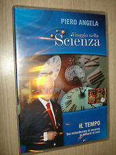 DVD N° 9 VIAJE EN CIENCIA PIERO ANGELA EL TIEMPO DE DAL MILMILLONÉSIMA PARTE DE