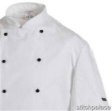 denny's AFD thermocool Uni Chef Chaqueta xs-4xl Blanco O Negro Todas Las Tallas
