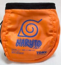 NARUTO Orange Pochette Pouch Bag TOMY JAPAN ANIME MANGA SHONEN JUMP