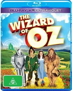 The Wizard Of Oz Blu-ray 2013 Brand New & Sealed