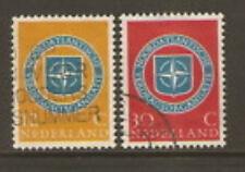 Nederland 720-721  NAVO NATO   1958  luxe gestempeld/USED