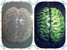 Zombie Brain Flexible Resin Mold For Handmade Jewelry or Hair Bows
