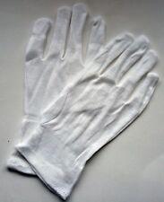 Pair of Medium Ladies Cotton Waiting Gloves Catering Waiter Waitress