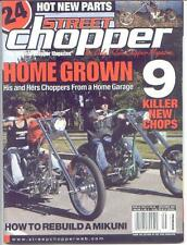 STREET CHOPPER Magazine May,Jun,Jul,Aug,Sep 2004 (NEW)